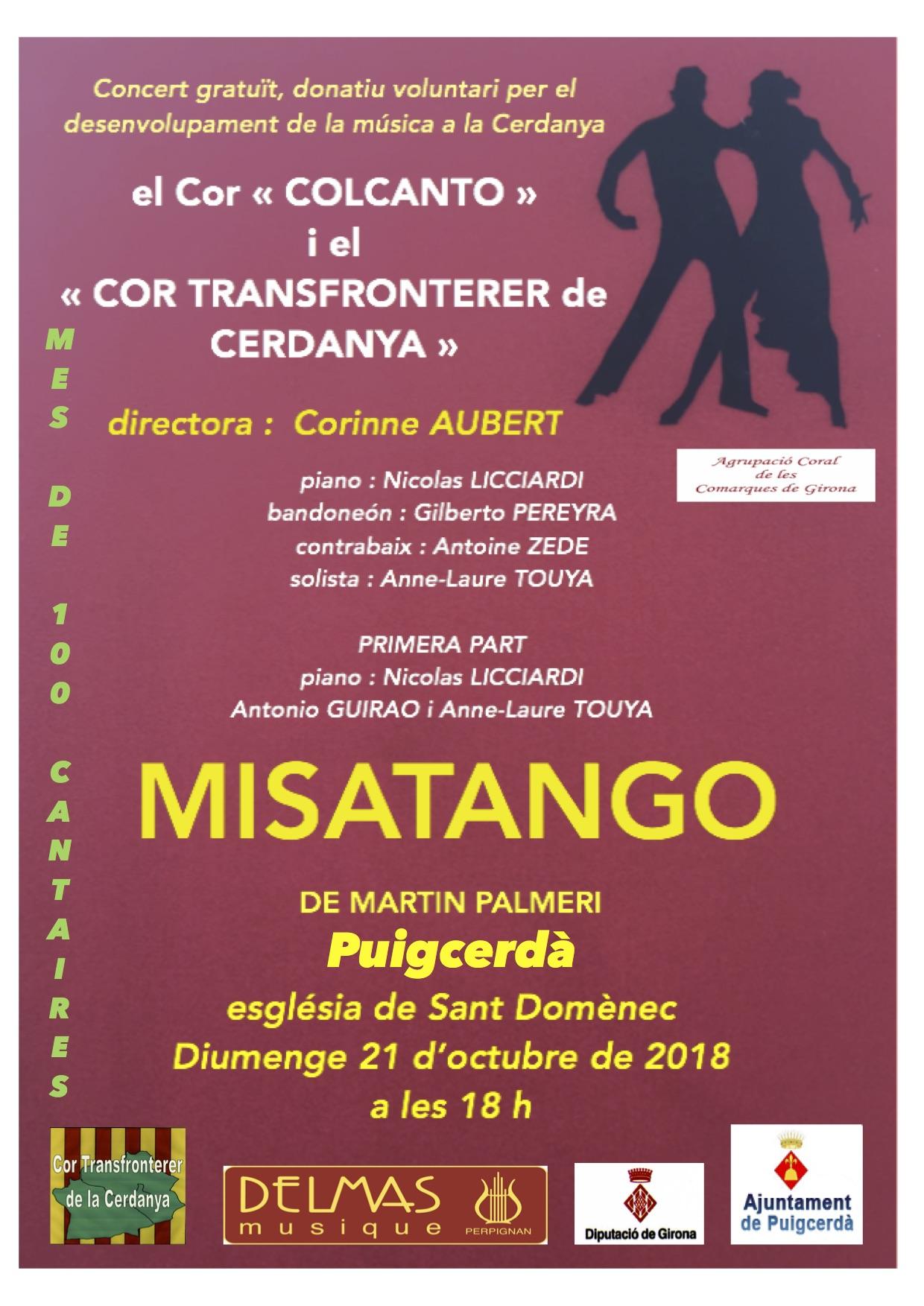 Misatango Cerdagne octobre 2018